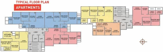 Nahar Cayenne Cluster Plan