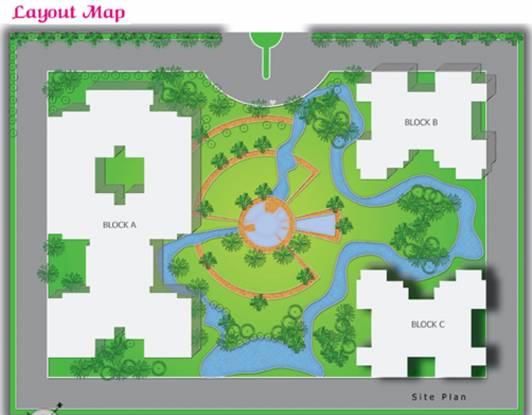 Samiah Melrose Square Layout Plan