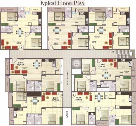 Neha Sadan Cluster Plan