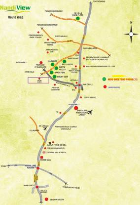 MSK Nandi View III Location Plan