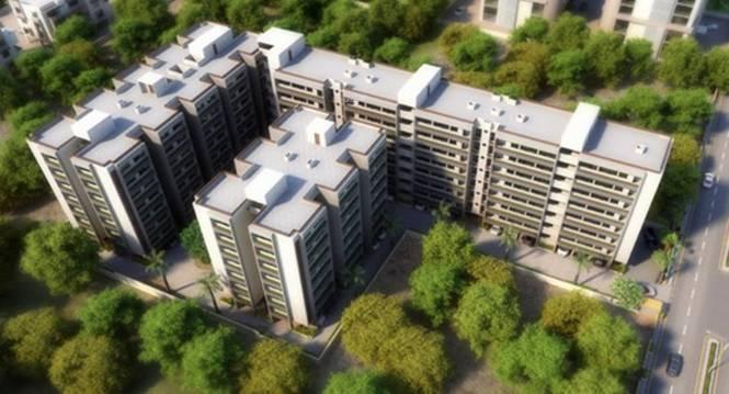 Nidhi Kuber Residency Elevation