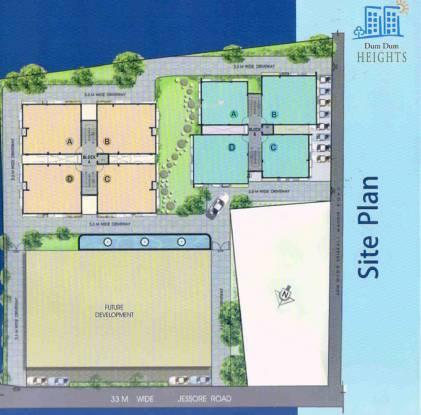 Transways Dum Dum Heights Site Plan