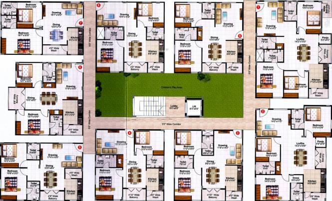 CDR Ixora Cluster Plan