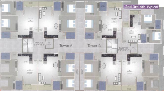 Palm Orchid Bliss Cluster Plan