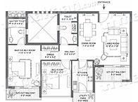 Landmark Landmark The Residency Layout Plan