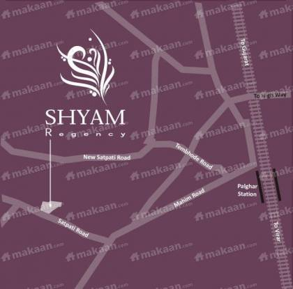 Panchmatia Properties Shyam Regency Location Plan