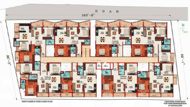 Thiru Thirumargadarshi Enclave Cluster Plan