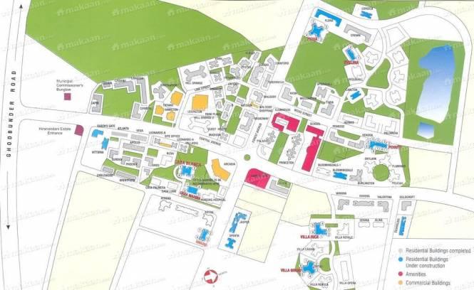 Hiranandani Group Hiranandani Estate Location Plan