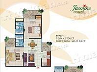 Savfab Developers Pvt Ltd Jasmine Court Layout Plan