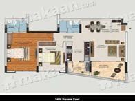 Mantri Developers Pvt Ltd Mantri Manyata Lithos Layout Plan