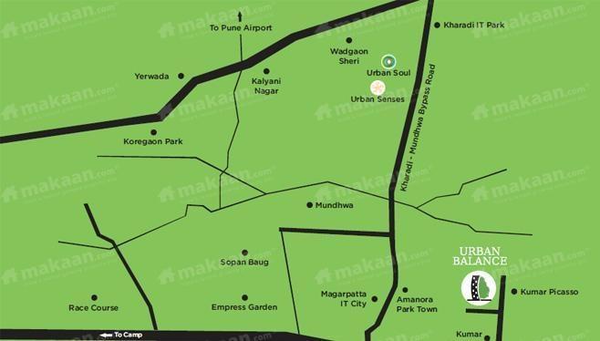 VTP and Jai Hindh Developers Urban Balance Location Plan