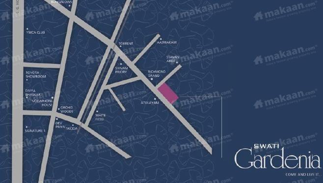 Swati Swati Gardenia Location Plan