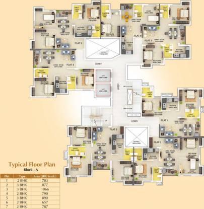 Signum Parkwoods Estate Cluster Plan