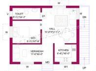 DV Associates Sai Shanthi Villa Layout Plan