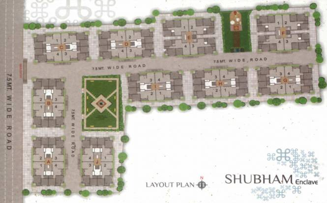 Shubham Enclave Layout Plan