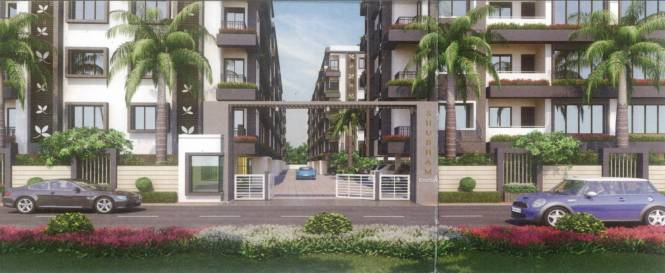 Shubham Enclave Elevation