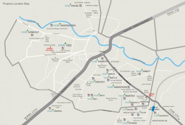 Karda Hari Sagar Location Plan
