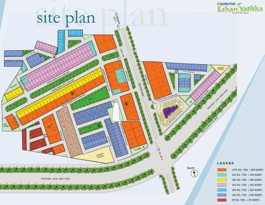 Gurutek Eshan Vatika Site Plan