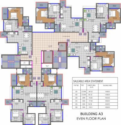 Shree Balaji Ganga Newtown Phase I Cluster Plan