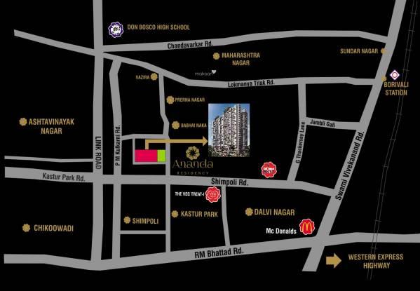 Paradigm Ananda Residency Location Plan