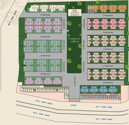 Sangani Vrajbhoomi Layout Plan