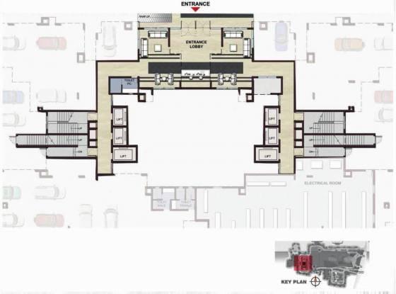 Prestige Panorama Cluster Plan