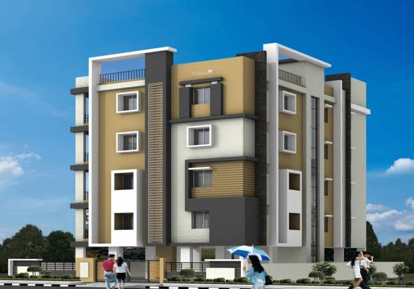 Sree Maruthi Developers And Constructions Arcade Elevation