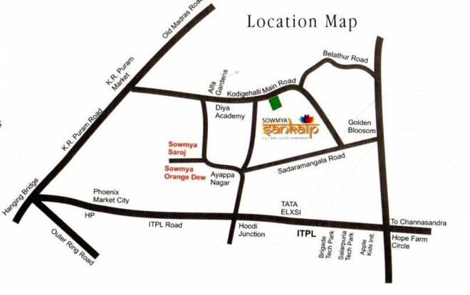 Sowmya Sankalp Location Plan