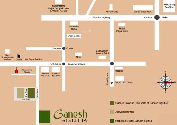 Nerkar Ganesh Signifia Location Plan
