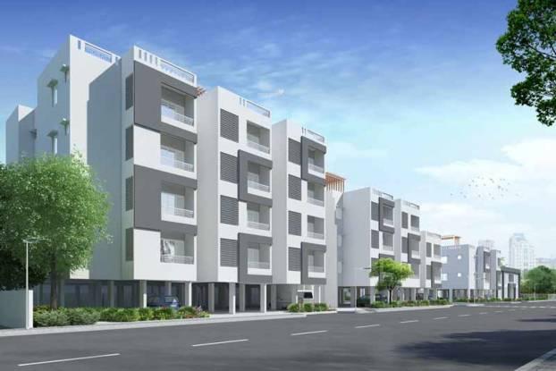 Serene Hub Apartments Elevation