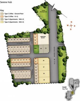 Serene Hub Apartments Site Plan