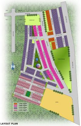 Shubh Villa Layout Plan
