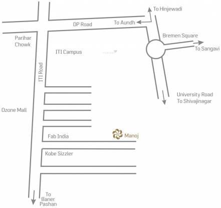 Water Manoj Apartment Condominium Location Plan