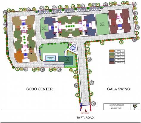 Swati Florence Site Plan
