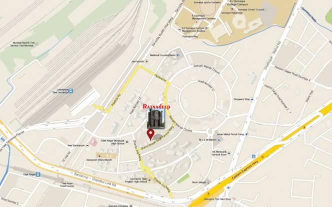Westin Ratnadeep Location Plan