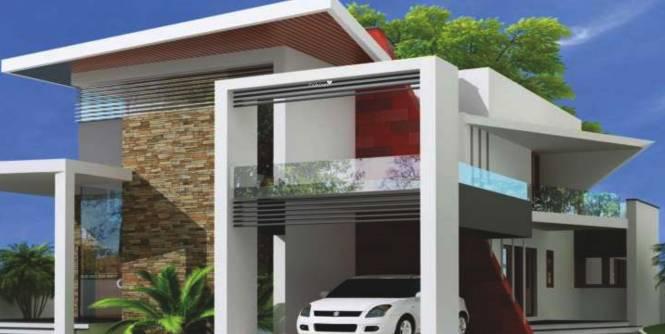 Lucknow Dream Valley Villas Elevation