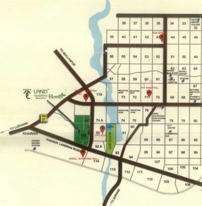 Land Homes Location Plan
