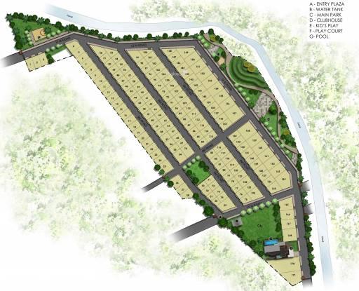 Preeti Green Valley Layout Plan