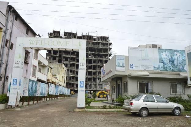 Shraddha Twin Towers Construction Status