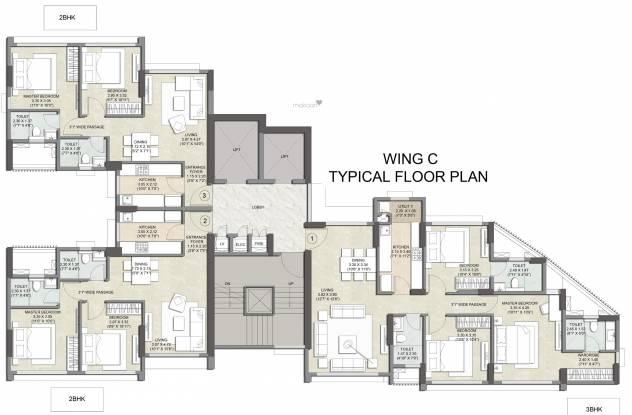 Primus Residences Cluster Plan