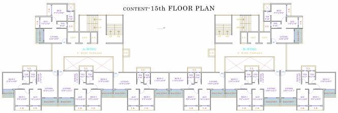 Kamdhenu Lifespaces Excelencia Cluster Plan