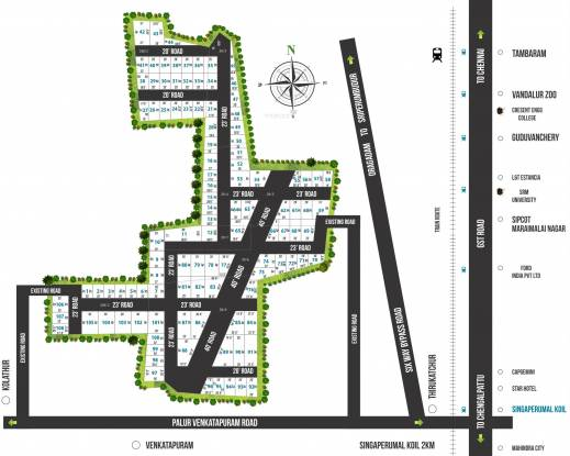 Value SG Avenue Layout Plan