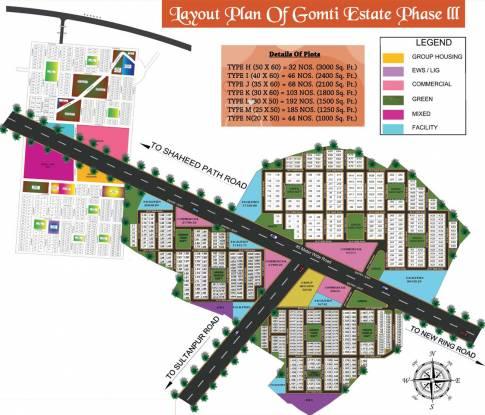 Shree Raj Gomti Estate Phase III in Bakkas, Lucknow - Flats for Sale ...