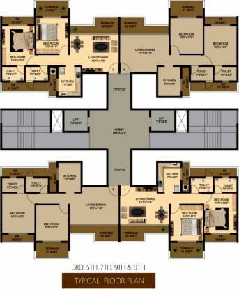 Shagun Essentia Cluster Plan