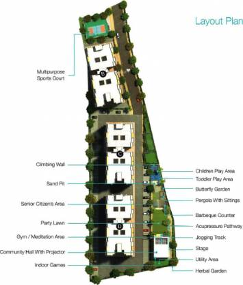 Sarthak Optima Heights Master Plan