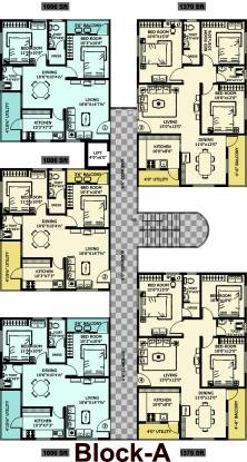 Prakruti Venkata Sai Homes Cluster Plan