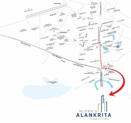Muppa Alankrita Location Plan