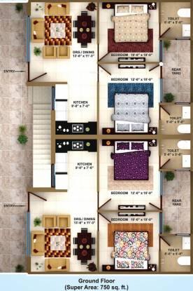 Paradise Darpan Homz Cluster Plan