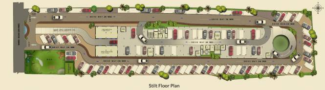 Agni Pelican Heights Cluster Plan