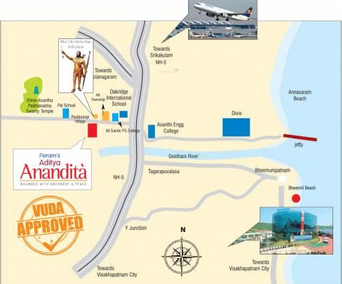 Peram Anandita Location Plan
